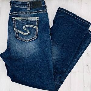 Silver Jeans Suki High Boot Cut Super Stretch 18
